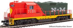 Walthers Mainline HO 910-20470 EMD GP9 Phase II High Hood Locomotive with ESU DCC/LokSound National Railways of Mexico NdeM #7106