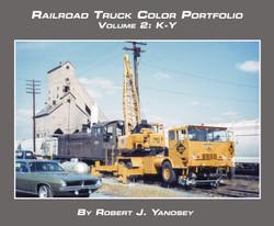 Morning Sun Books 'Soft Cover' 7553 Railroad Truck Color Portfolio Volume 2: K-Y