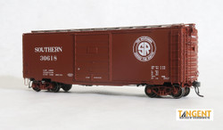 Tangent Scale Models HO 26010-02 Pullman-Standard 40' PS-1 9' Door Boxcar Southern 'Original 1951' SOU #30550