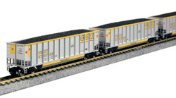 Kato N 106-4627 BethGon Coalporter 8-Car Set CSX Transportation CSXT