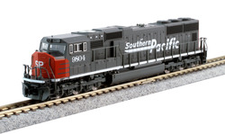 Kato N 176-7611 DCC Ready EMD SD70M 'Flat Radiator' Southern Pacific SP #9804