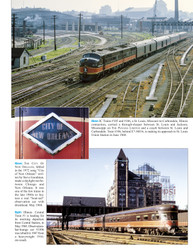 Morning Sun Books 1727 Chicago Intercity Passenger Trains In Color