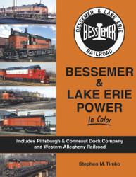 Morning Sun Books 1642 Bessemer & Lake Erie Power In Color