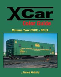 Morning Sun Books 1565 X Car Color Guide Volume 2: CSCX-GPUX