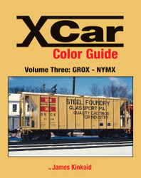 Morning Sun Books 1576 X Car Color Guide Volume 3: GROX-NYMX