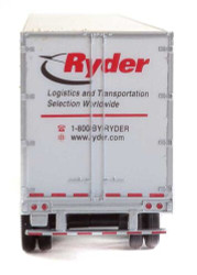 Walthers SceneMaster HO 949-2455 53' Stoughton Trailer Ryder 2-Pack