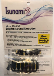 SoundTraxx 885032 TSU-KN1 Digital DCC Sound Decoder For Kato N Scale
