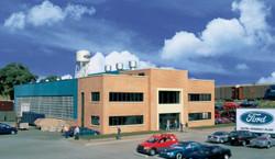 Walthers Cornerstone HO 933-4142 Automotive Assembly Plant - Kit