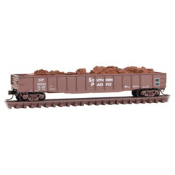Micro Trains Line N 105 00 381 50' Steel Side Fishbelly Gondola Southern Pacific SP #323141