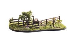 Woodland Scenics A2982 HO Rail Fence