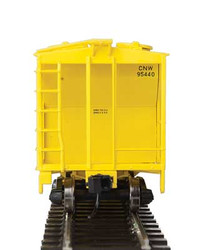 Walthers Mainline HO 910-7018 50' Pullman-Standard PS-2 2893 3-Bay Covered Hopper Chicago & North Western CNW #95445