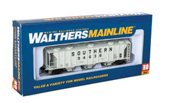 Walthers Mainline HO 910-7033 50' Pullman-Standard PS-2 2893 3-Bay Covered Hopper Southern #94638