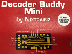 Nixtrainz HO Decoder Buddy Mini Motherboard 1 per Pack