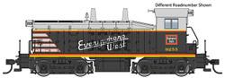 Walthers Mainline HO 910-20653 EMD SW7 Locomotive with ESU DCC/LokSound Chicago, Burlington & Quincy CB&Q #9255