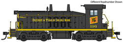 Walthers Mainline HO 910-20657 EMD SW7 Locomotive with ESU DCC/LokSound Detroit & Toledo Shore Line D&TS #118