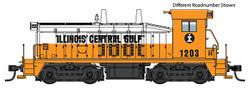 Walthers Mainline HO 910-20659 EMD SW7 Locomotive with ESU DCC/LokSound  Illinois Central Gulf ICG #1218