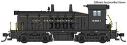 Walthers Mainline HO 910-20660 EMD SW7 Locomotive with ESU DCC/LokSound  New York Central NYC #8885