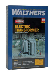Walthers Cornerstone HO 933-3126 Electric Transformer - Kit