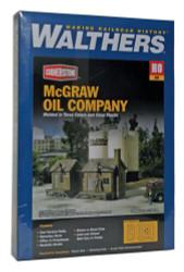 Walthers Cornerstone HO 933-2913 McGraw Oil Company - Kit