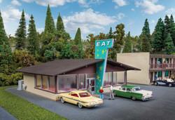 Walthers Cornerstone HO 933-3489 Vintage Motor Restaurant - Kit