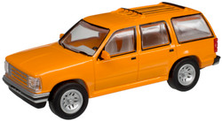 Atlas N 60000052 1993 Ford Explorer Orange Unlettered - 2 Pack