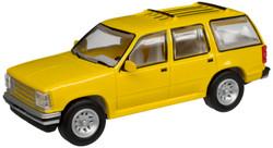 Atlas N 60000054 1993 Ford Explorer Yellow Unlettered - 2 Pack