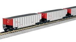 Kato N 106-4629 BethGon Coalporter 8-Car Set Canadian National CN
