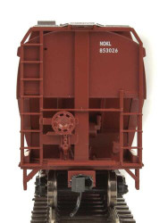Walthers Mainline HO 910-7692 60' NSC 5150 3-Bay Covered Hopper Canadian National NOKL #853118