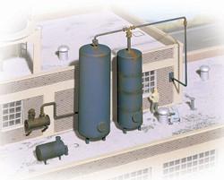 Walthers Cornerstone HO 933-3514 Industrial Storage Tanks - Kit