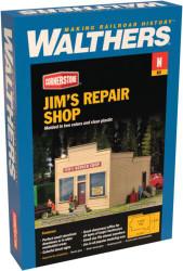 Walthers Cornerstone N 933-3229 Jim's Repair Shop - Kit
