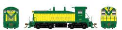 Rapido Trains Inc HO 27007 EMD SW1200 DC Silent Chicago & North Western 'Delivery Scheme' CNW #313