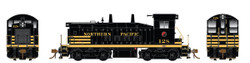Rapido Trains Inc HO 27044 EMD SW1200 DC Silent Northern Pacific 'Delivery Scheme' NP #130