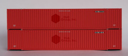Jacksonville Terminal Company N 535013 53' High Cube Corrugated Side Containers CSX 'Ex-HUB GROUP 2-Pack