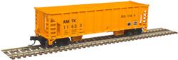 Atlas Master N 50005475 41' Ballast Hopper Amtrak AMTK #11665