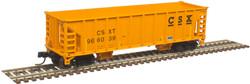 Atlas Master N 50005478 41' Ballast Hopper CSX Transportation 3-Pack CSXT #966019, #966036, #966039
