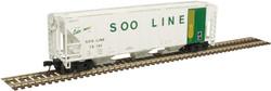 Atlas Master N 50005555 PS 4427 Covered Hopper Soo Line 'Colormark' SOO #70195