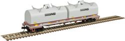 Atlas Master N 50005714 Evans 48' Cushion Coil Car Conrail 'NS Hoods' CR #628422