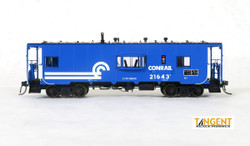 Tangent Scale Models HO 60113-02 Despatch Shops Incorporated NYC Lot 782/ N7 Class Steel Bay Window Caboose Conrail 'Blue Repaint' 1976+ CR #21643