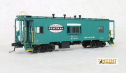 Tangent Scale Models HO 60119-02 Despatch Shops Incorporated NYC Lot 782/ N7 Class Steel Bay Window Caboose New York Central 'Century Green Repaint & Large Logo' 1964+ NYC #21619