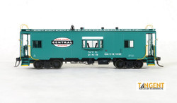 Tangent Scale Models HO 60119-03 Despatch Shops Incorporated NYC Lot 782/ N7 Class Steel Bay Window Caboose New York Central 'Century Green Repaint & Large Logo' 1964+ NYC #21687