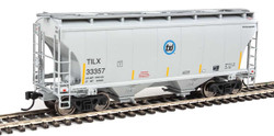 Walthers Mainline HO 910-7549 39' Trinity 3281 2 Bay Covered Hopper Trinity Leasing Industries TILX #33357