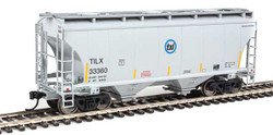 Walthers Mainline HO 910-7550 39' Trinity 3281 2 Bay Covered Hopper Trinity Leasing Industries TILX #33360