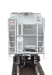 Walthers Mainline HO 910-7560 39' Trinity 3281 2 Bay Covered Hopper Iowa Chicago & Eastern GATX 'Black Logo' ICE #9844