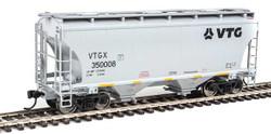 Walthers Mainline HO 910-7564 39' Trinity 3281 2 Bay Covered Hopper VTG North America VTGX #350008