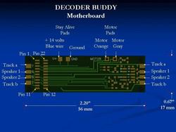 Nixtrainz NTZ4 HO Decoder Buddy 8 Output 1K - 1 per Pack