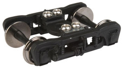 Walthers Proto HO 920-2122 GSC Commuter Trucks Black with 36 inch Metal Wheels - 1 Pair
