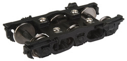 Walthers Proto HO 920-2132 GSC NYC Pre-War 6-Wheel Trucks Black with 36 inch Metal Wheels - 1 Pair
