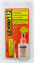 Labelle 112 HO N & Z Scale Operating Knuckle Coupler Oil with PTFE – 1/2 oz., 14.9 mL