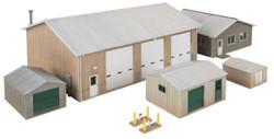Walthers Cornerstone HO 933-4122 Vehicle Maintenance Facility - Kit