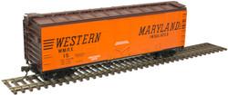Atlas Trainman HO 20006137  40' Plug Door Box Car Western Maryland WMRX #7
